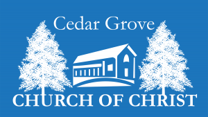 Cedar Grove church of Christ